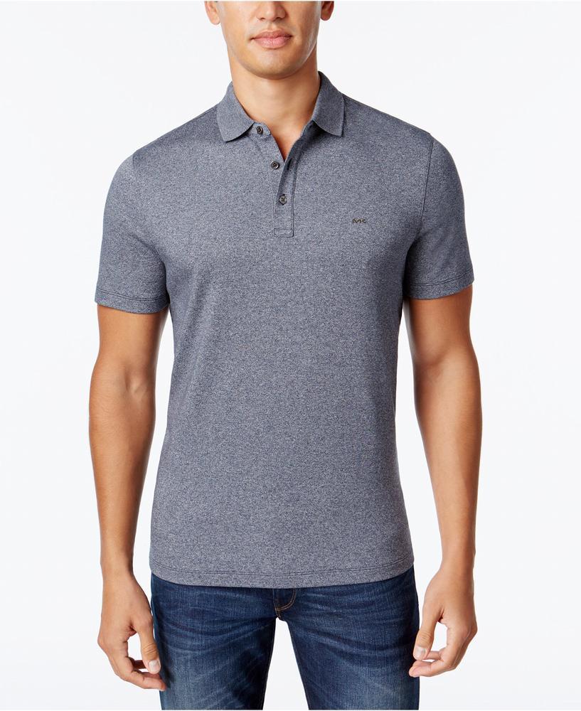 áo phông Michael Kors nam Liquid Cotton Polo