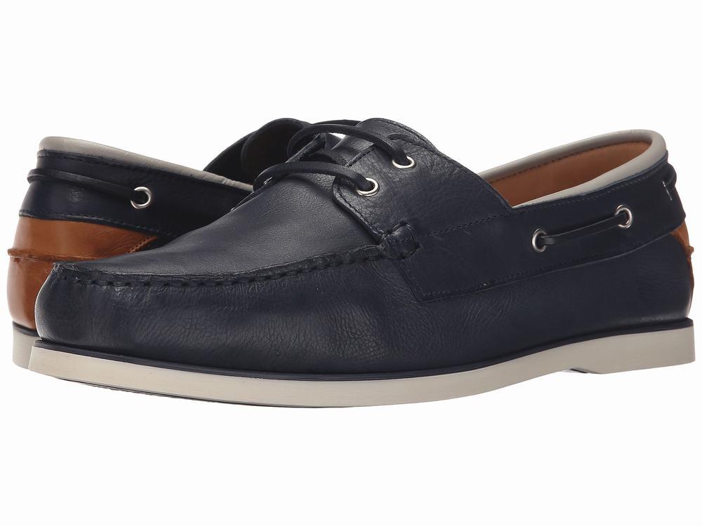 giày da Aldo nam Archive Boat xanh navy chính hãng
