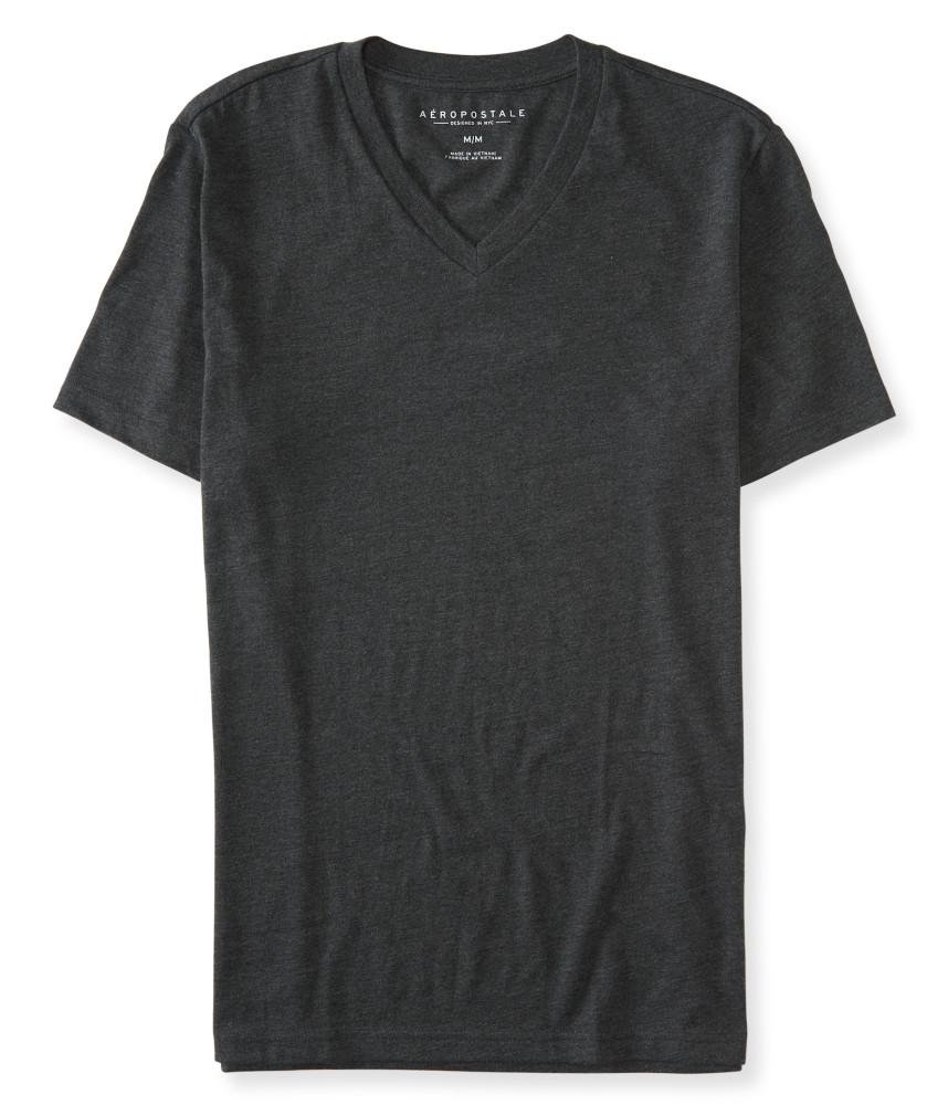 áo phông Aero Packaged cổ v xám đen xách tay