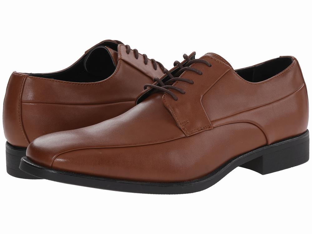 giày tây nam Calvin Klein Earl da nâu hàng hiệu