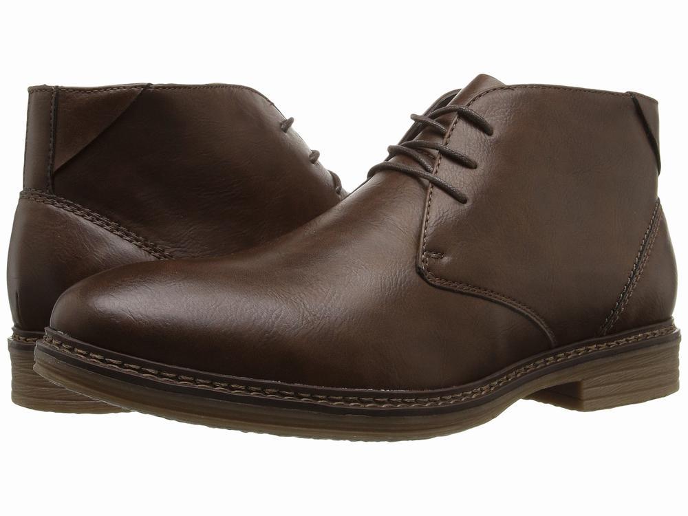 giày cao cổ nam Antonio Zengara Piermont da nâu