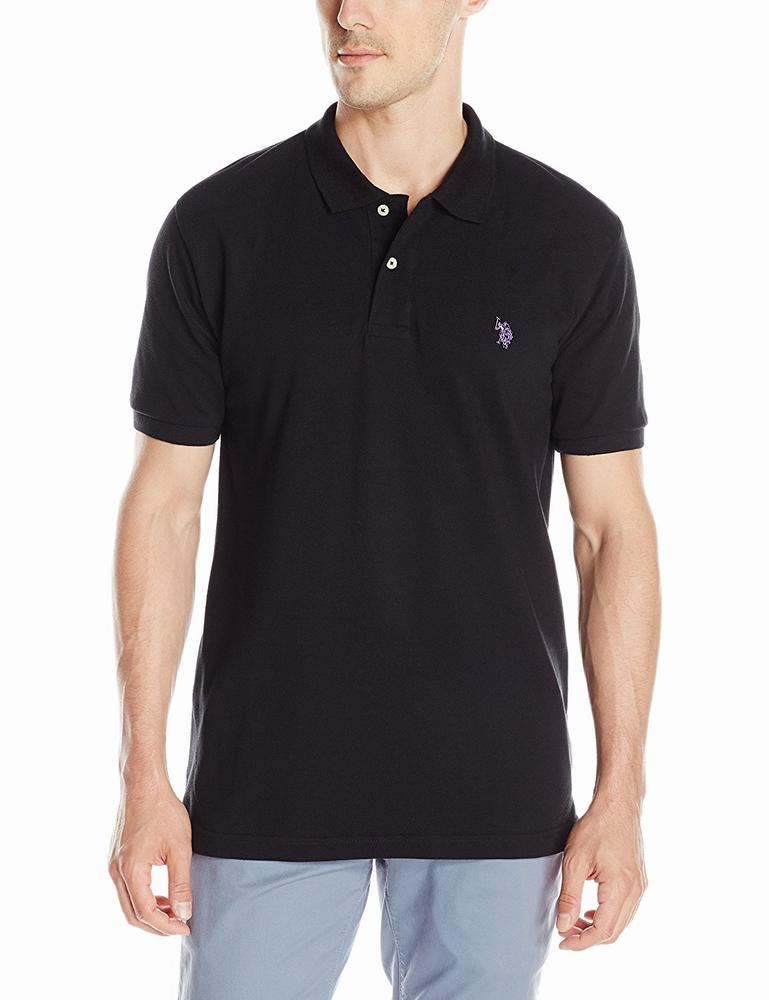 áo thun U.S. Polo Assn. nam Solid Polo Shirt with Small Pony Logo