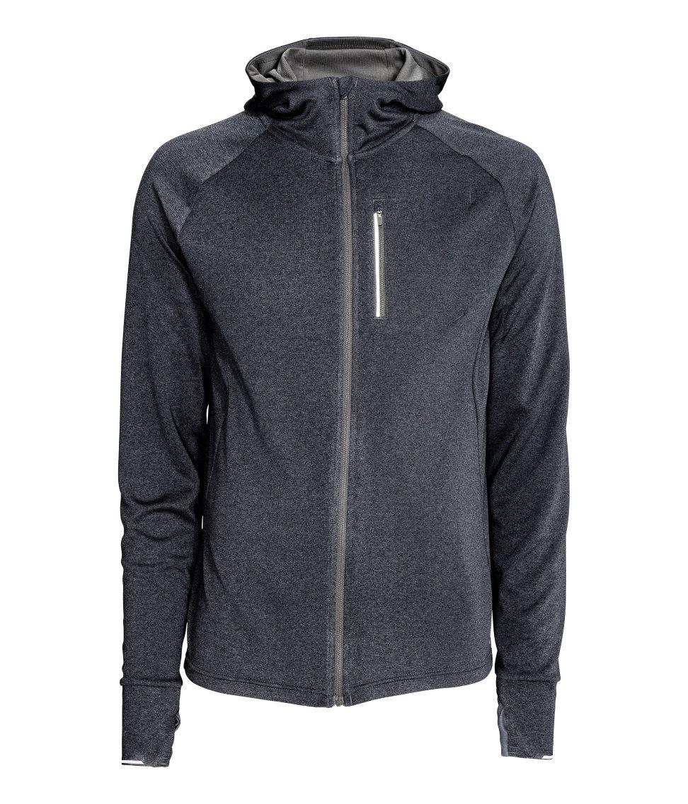 áo khoác nam HM Hooded Running thể thao