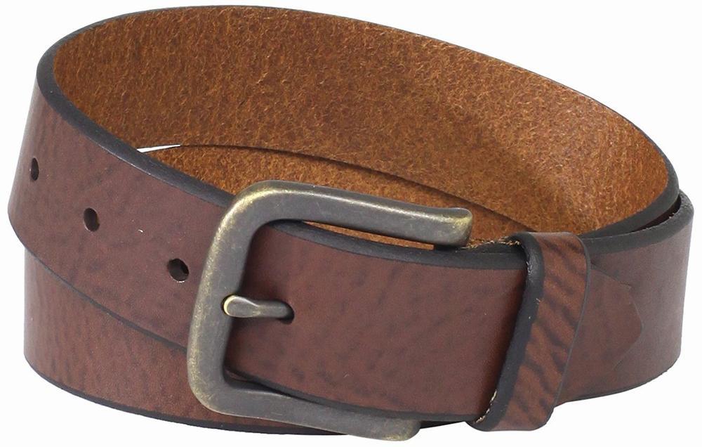 thắt lưng da Levi's 38mm Bridle Da nâu hàng hiệu