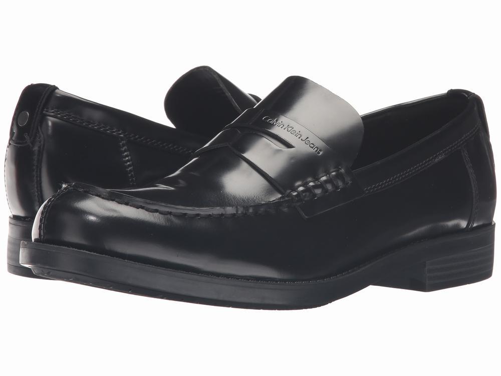 giày lười Calvin Klein Jeans Yonah Da đen chính hãng