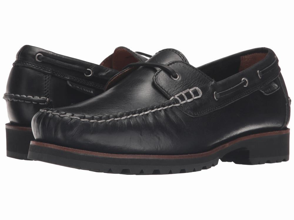 giày da nam Cole Haan Connery đen oxford cao cấp