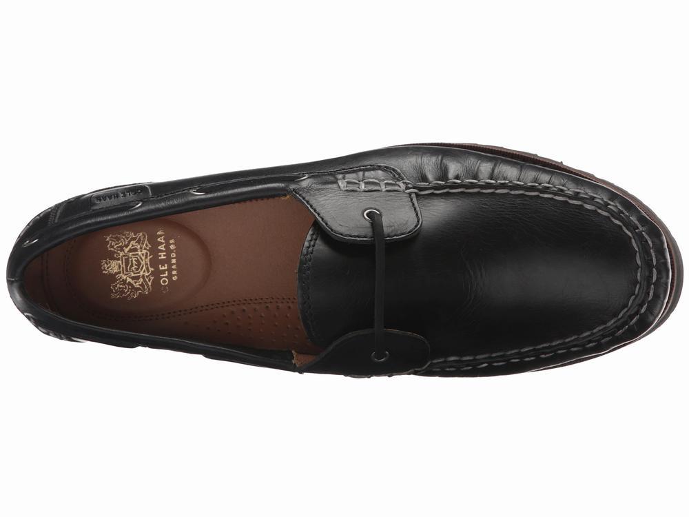 giày da Cole Haan Connery đen oxford cao cấp