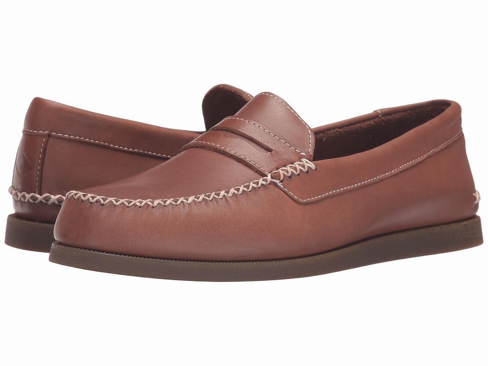 giày lười da Sperry Top-Sider AO Wedge Penny Chính hãng