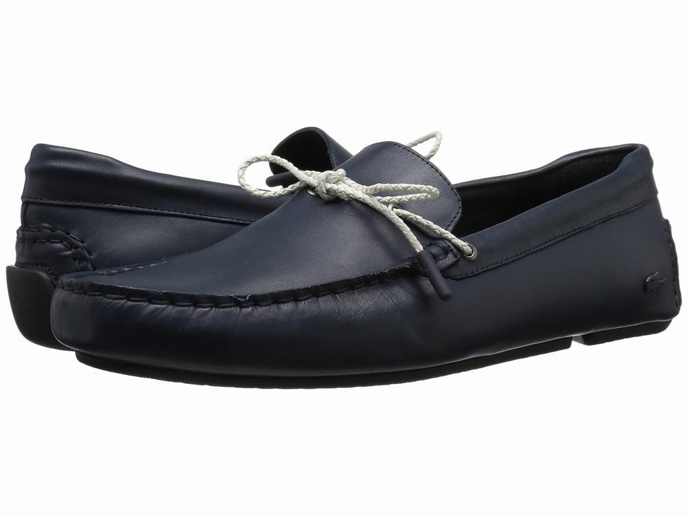 giày lười Lacoste Piloter Corde 117 da chính hãng