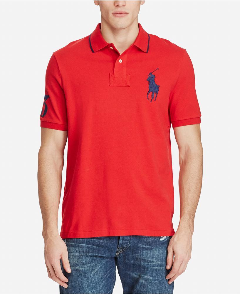 áo thun nam Polo Ralph Lauren Classic-Fit Big Pony Polo