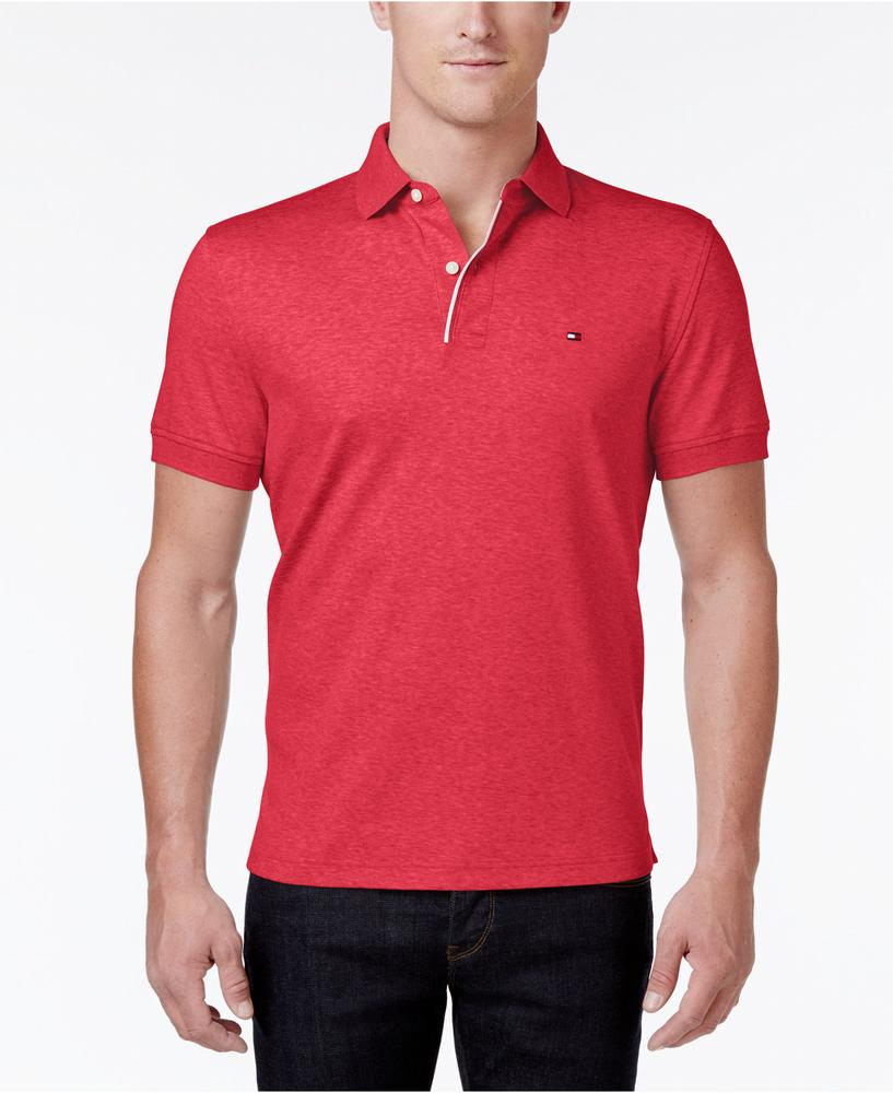 áo thun Tommy Hilfiger nam Classic-Fit Cotton Polo