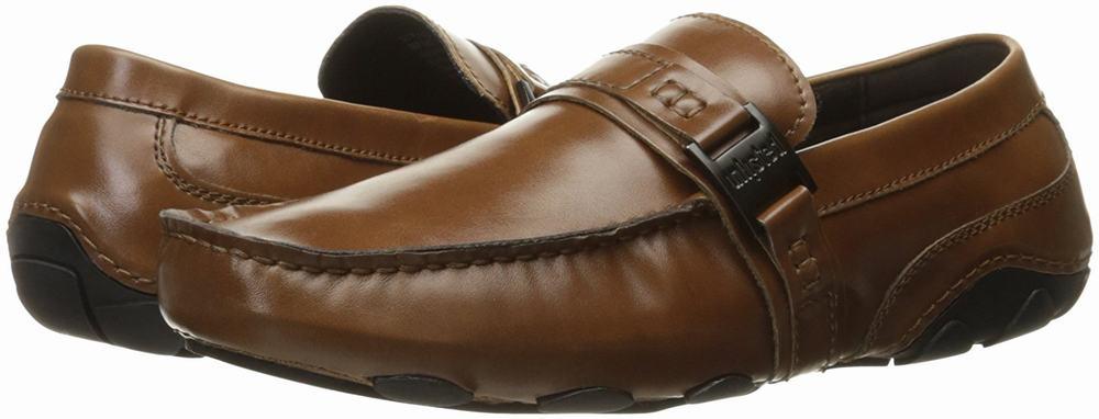 giày lười Kenneth Cole Unlisted String Along da nâu