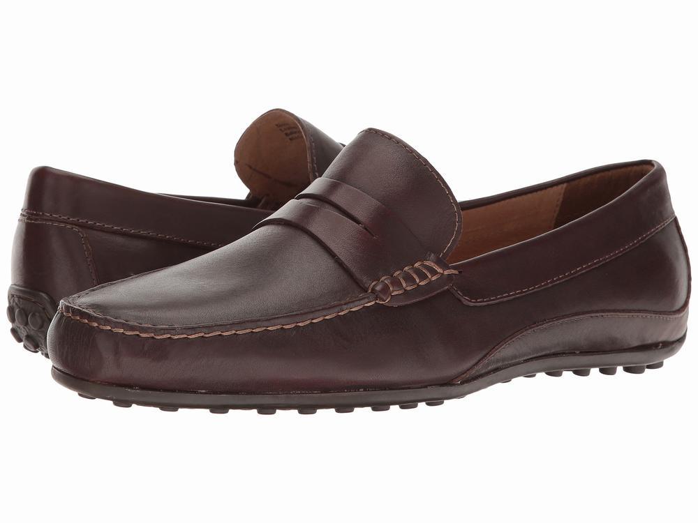 giày da mọi Florsheim Oval Penny hàng hiệu