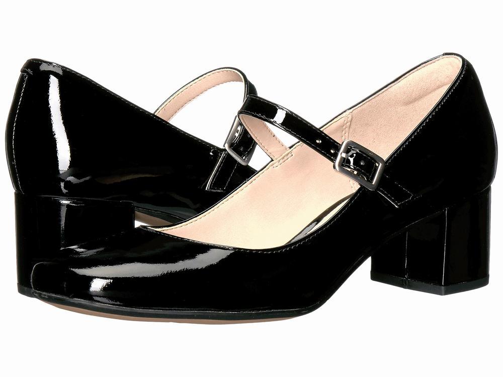 giày nữ gót to Clarks Chinaberry Pop cao cấp