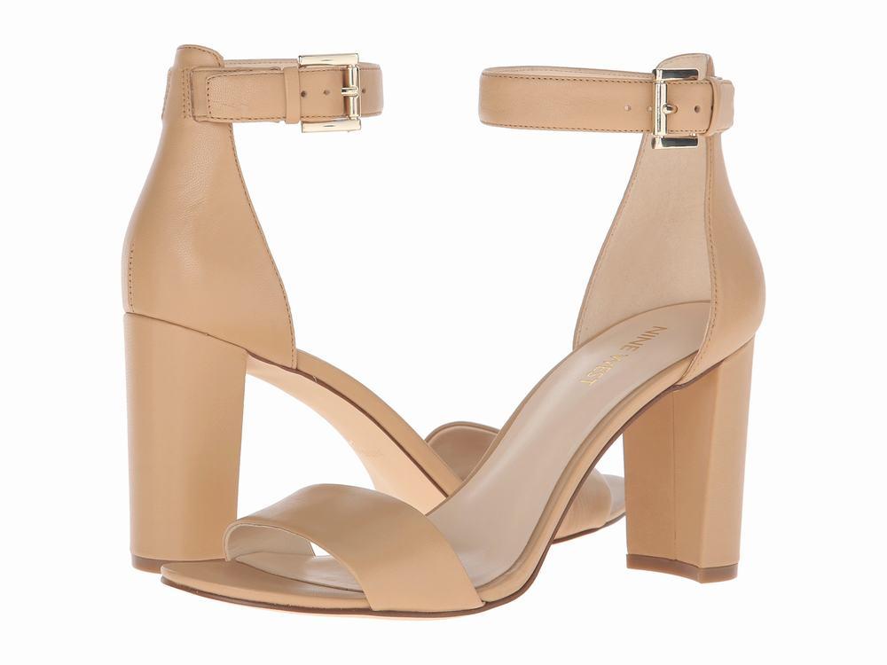 giày sandal cao gót to Nine West Nora hàng hiệu