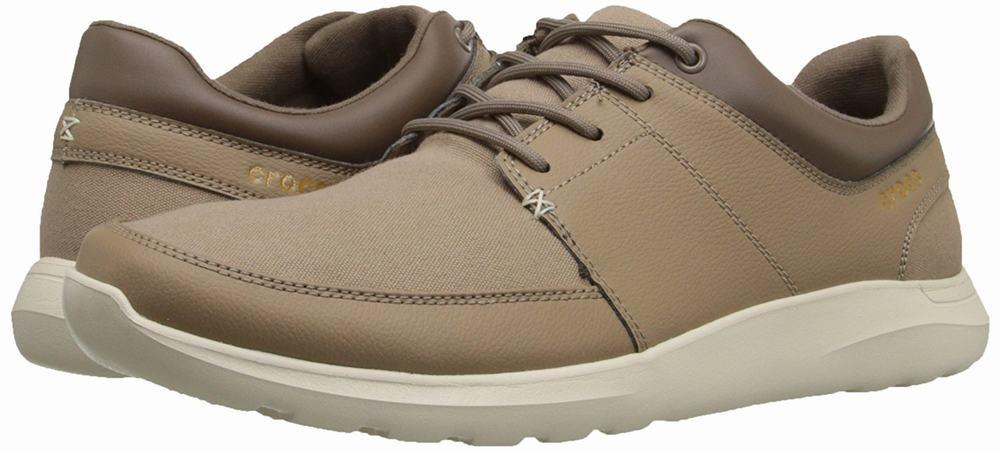 giày thể thao nam crocs Kinsale nâu chính hãng