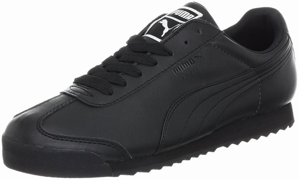 giày da nam PUMA Roma Basic đen thể thao