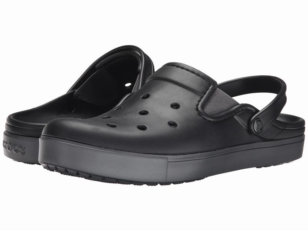 dép Crocs nam CitiLane Clog đen chính hãng