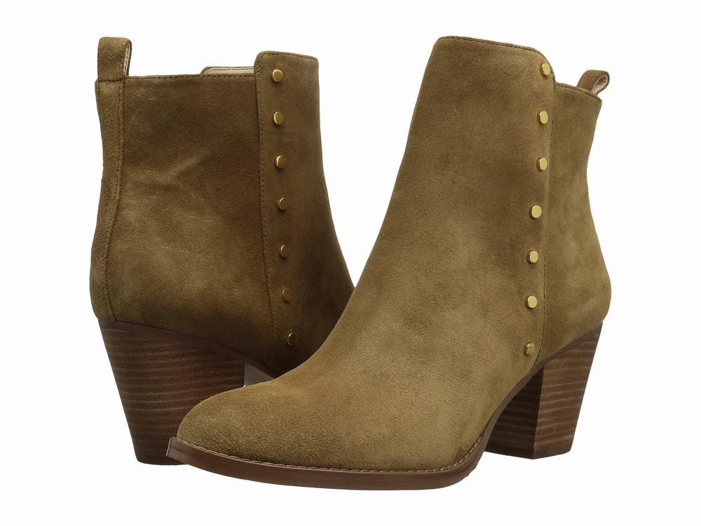 Giày Cao Cổ Nữ Nine West Freeport Da Lộn Phong Cách
