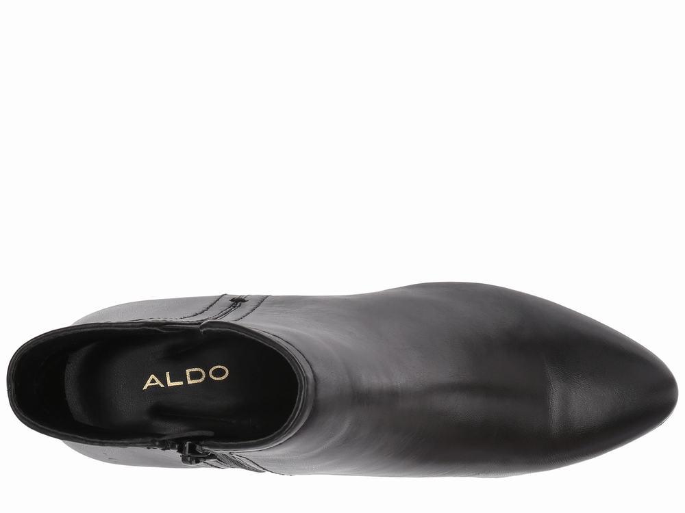 Giày Boot Cổ Thấp Aldo Gót Vừa Larissi Hàng Nhập Chính Hãng