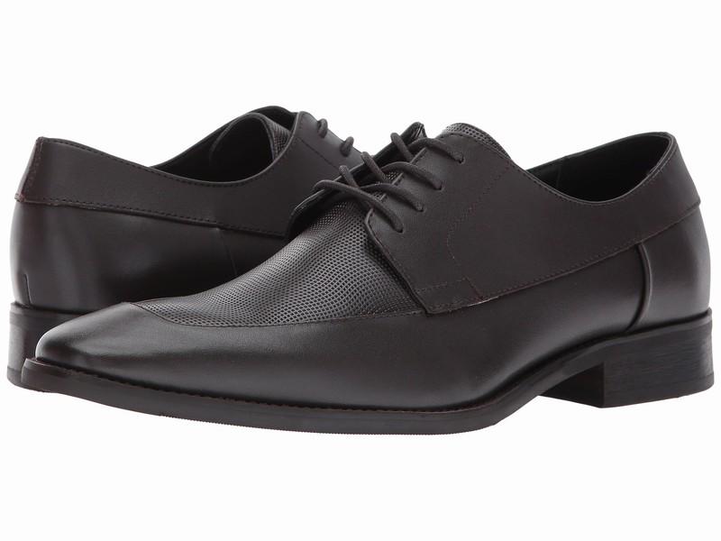 Giày Tây Nam Calvin Klein Chất Da Rampert Nâu Đen Hàng Hiệu