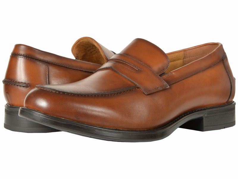 Giày Slip-On Florsheim Chất Da Thật Midtown Hàng Chính Hãng
