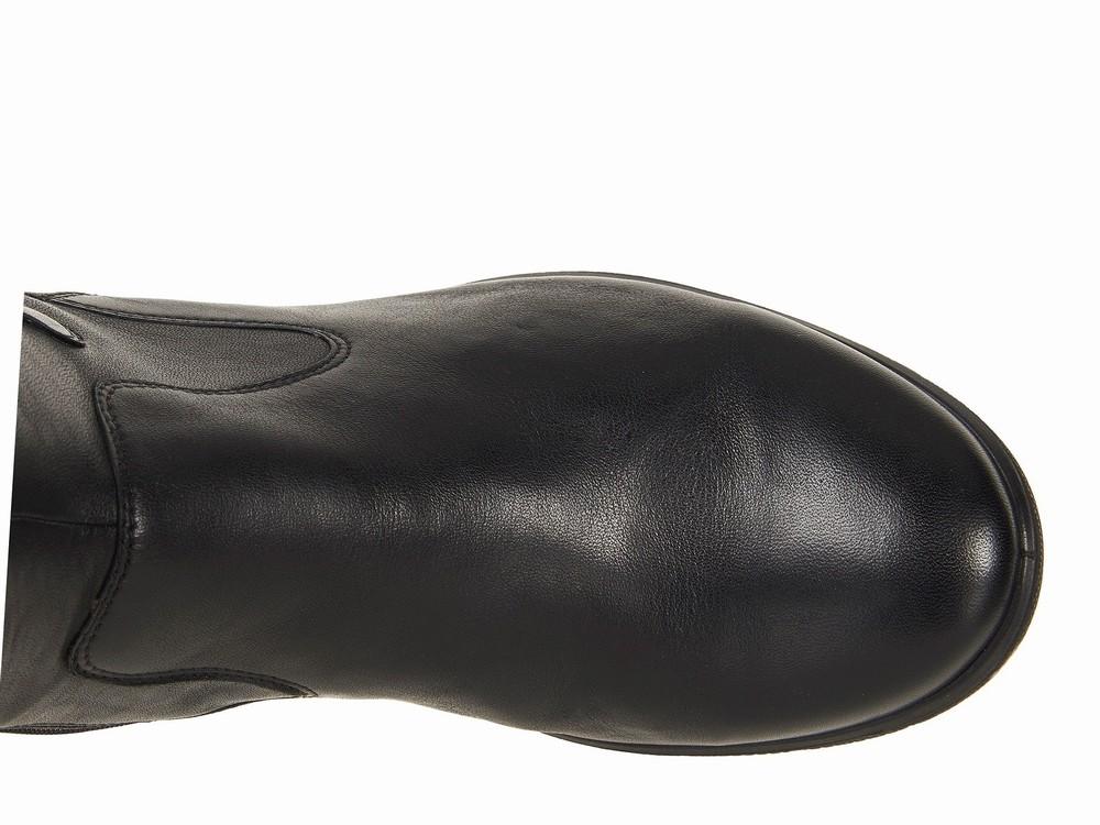 Giày Boot Cổ Cao ECCO Đế Bằng Babett Hàng Chính Hãng