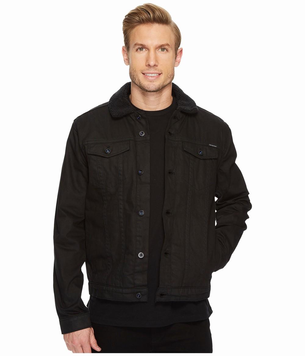 Áo Khoác Nam Calvin Klein Chất Dầy Sherpa