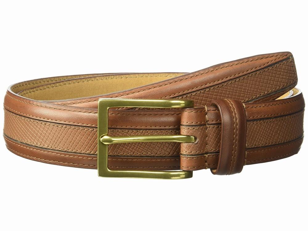 Thắt Lưng Cole Haan Phối Kiểu 35mm Da Nâu Hàng Nhập