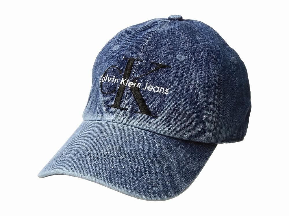 Mũ Lưỡi Trai Nam Calvin Klein Jeans Chất Denim Bụi